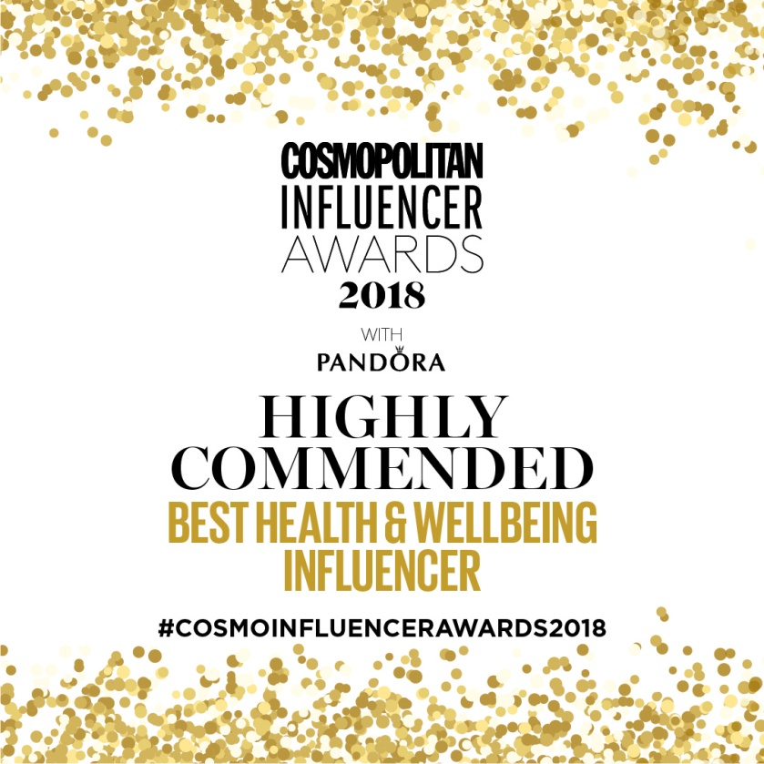 Social Badges_Highly Commended_Best Health and Wellbeing Influencer